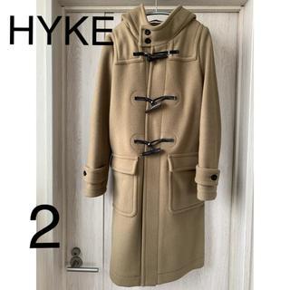 HYKE - 美品 HYKE 定番メルトンダッフルコート 2