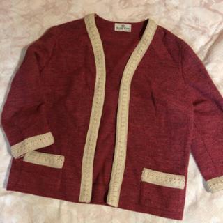 エディットフォールル(EDIT.FOR LULU)の50's〜60's vintage knit jacket(ノーカラージャケット)