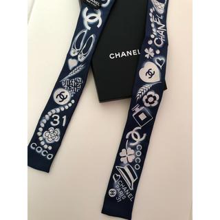 シャネル(CHANEL)の新品 未使用 CHANEL シャネル ツイリー(バンダナ/スカーフ)