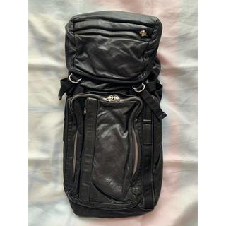 マルニ(Marni)の★レザー・美品★MARNI レザー バッグパック リュック バッグ 鞄 マルニ(バッグパック/リュック)