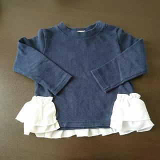 プティマイン(petit main)のモモマメチャー様専用 プティマイン トレーナー 90㎝(Tシャツ/カットソー)