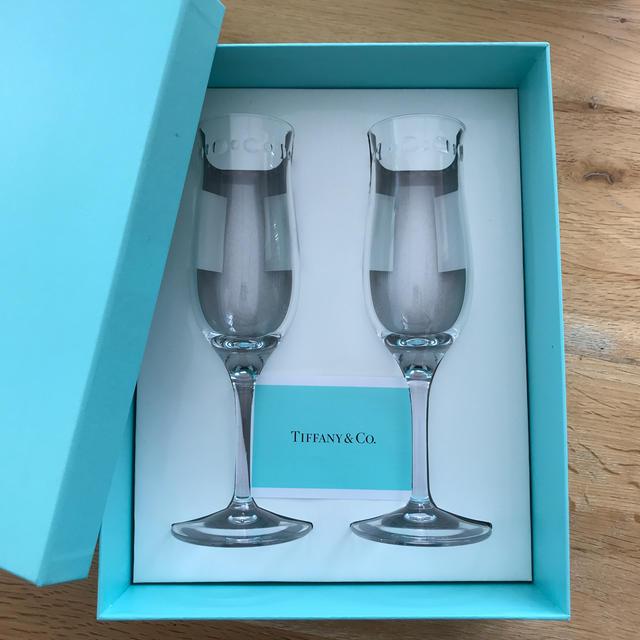 Tiffany & Co.(ティファニー)のティファニー シャンパンワイングラス インテリア/住まい/日用品のキッチン/食器(グラス/カップ)の商品写真