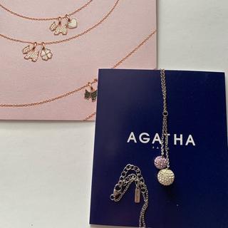 アガタ(AGATHA)の最終値下げ(ネックレス)