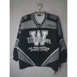 ウィルソン(wilson)の5565 レア WILSON 日本製 ヒットユニオン 90s ビンテージ(スウェット)
