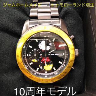ジャムホームメイドアンドレディメイド(JAM HOME MADE & ready made)のジャムホームメイド ✖️トゥモローランド別注 ミッキー(腕時計(アナログ))