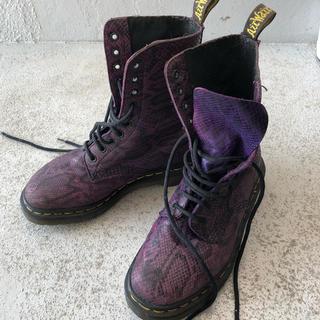 ドクターマーチン(Dr.Martens)のDr.マーチン ブーツ サイズ4 10ホール 希少(ブーツ)