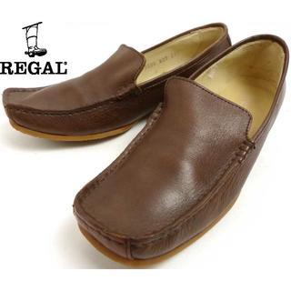 リーガル(REGAL)のREGAL リーガル レザーローファー/ スリッポンシューズ23.5cm(ローファー/革靴)