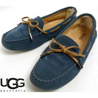 アグ(UGG)のアグ UGG モカシン スエードローファー EU40(25.5cm)(ローファー/革靴)