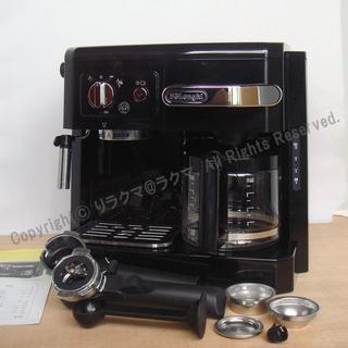DeLonghi - デロンギ コンビコーヒーメーカー BCO410J-B 一台三役エスプレッソ