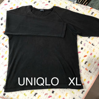ユニクロ(UNIQLO)のメンズ カットソー(Tシャツ/カットソー(七分/長袖))