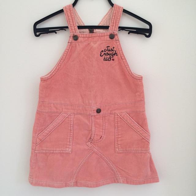 eaB(エーアーベー)のe.a.B ジャンパースカート キッズ/ベビー/マタニティのキッズ服女の子用(90cm~)(ワンピース)の商品写真