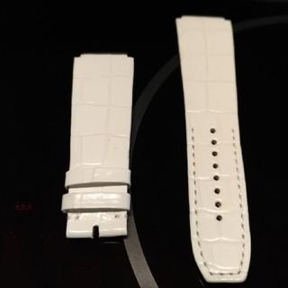パテックフィリップ(PATEK PHILIPPE)のリシャールミルRichard Mille時計RM010用クロコワニ革ベルトバンド(腕時計(アナログ))