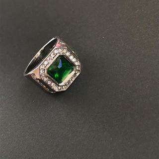 lit様専用 S925 Emerald Ring(リング(指輪))