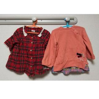 ビケット(Biquette)のビケット セラフ トップス 2点セット 90センチ(Tシャツ/カットソー)