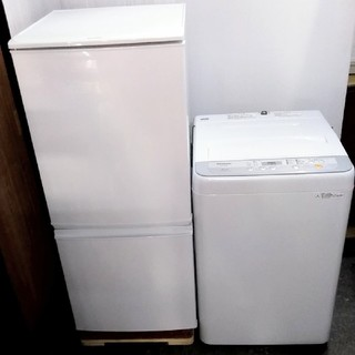 SHARP - 生活家電セット 冷蔵庫 どっちでもドア 洗濯機 高年式 5キロ