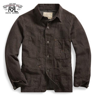 ダブルアールエル(RRL)の【未使用】RRL Cotton-Linen Twill Work Jacket(カバーオール)