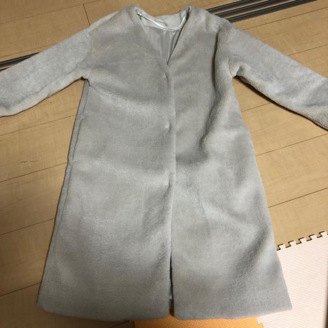GU(ジーユー)のロングコート レディースのジャケット/アウター(ロングコート)の商品写真