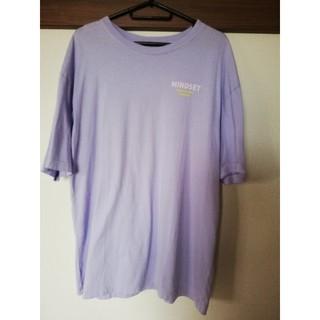 ベルシュカ(Bershka)の☆Bershka 紫Tシャツ/ワンピース☆(Tシャツ(半袖/袖なし))