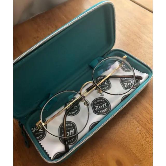 Zoff(ゾフ)のsaku様専用Zoff Classic 丸メガネ レンズ交換無料 レディースのファッション小物(サングラス/メガネ)の商品写真