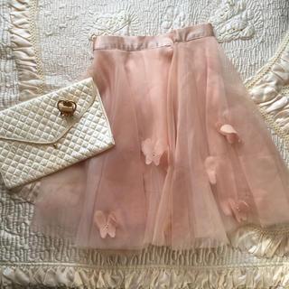ロキエ(Lochie)の❣️SALE❣️ 🆕vintage  fairy  skirt🍹(ひざ丈スカート)