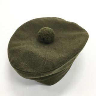 マーガレットハウエル(MARGARET HOWELL)のマーガレットハウエル ベレー帽(ハンチング/ベレー帽)