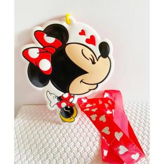 ディズニー(Disney)のミニーちゃんパスケース(名刺入れ/定期入れ)
