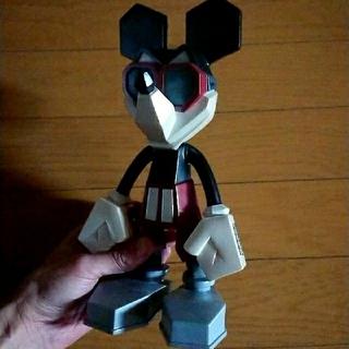 メディコムトイ(MEDICOM TOY)のレア 3mix BLOC ミッキーフィギュア Disney official(SF/ファンタジー/ホラー)