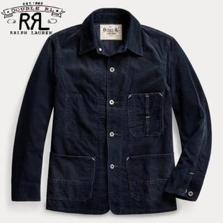 ダブルアールエル(RRL)の【未使用品】RRL Indigo Corduroy Chore Jacket S(カバーオール)