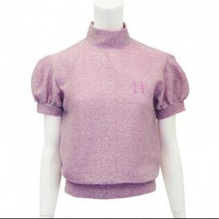 ハニーミーハニー(Honey mi Honey)の 美品☆HONEY MI HONEY glitters pullover ピンク(Tシャツ(半袖/袖なし))