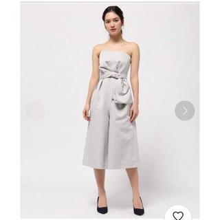 ジャスグリッティー(JUSGLITTY)のジャスグリッティ ベアガウチョ ワンピース ドレス(ミディアムドレス)