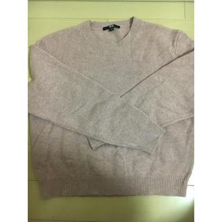 ユニクロ(UNIQLO)のセーター ピンク(ニット/セーター)