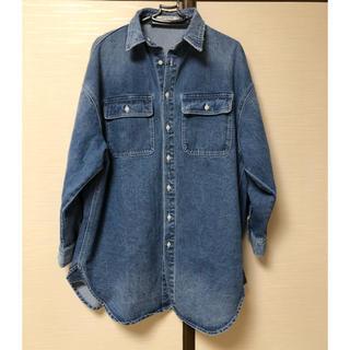 アグノスト(AGNOST)のビッグシルエットデニムシャツジャケット(Gジャン/デニムジャケット)