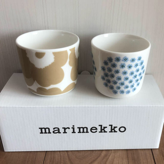 marimekko - マリメッコ ラテマグ 2個セット 新色限定