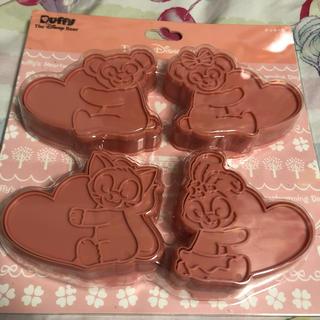 ダッフィー(ダッフィー)のダッフィーアンドフレンズ クッキー 型(収納/キッチン雑貨)