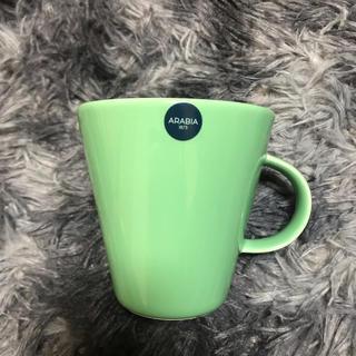 アラビア(ARABIA)のarabia 新品 マグカップ(グラス/カップ)