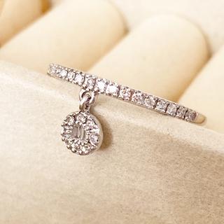 アガット(agete)のベルシオラ ダイヤモンドリング(リング(指輪))