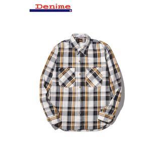 ドゥニーム(DENIME)のDENIME/ドゥニーム ネルシャツ カットソー M メンズ D16AW-004(シャツ)