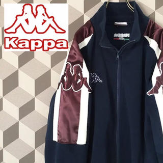 カッパ(Kappa)の【90s Kappa】ビッグ スリーヴロゴ ジップアップ フリース カッパ(ブルゾン)