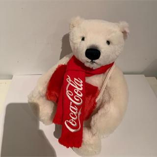コカコーラ(コカ・コーラ)の【入手困難・限定品】「コカ・コーラ ポーラーベア」■マフVer.38cm(ぬいぐるみ)