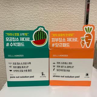 チャアンドパク(CNP)のベラモンスター にんじん&すいか パッド(ゴマージュ/ピーリング)