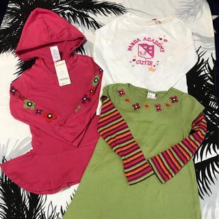 ジンボリー(GYMBOREE)の新品タグ付き ジンボリー カットソー チュニック 3点セット(Tシャツ/カットソー)
