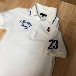 23区ゴルフ ゴルフウェア ポロシャツ シミあり