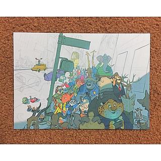 Disney - ディズニー ズートピア ポストカード