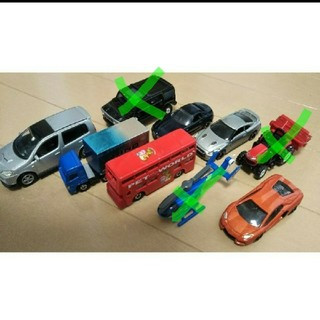 トミー(TOMMY)のトミカ 車 おもちゃ 6台 まとめ売り(ミニカー)