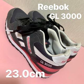 リーボック グレー ピンク 23.0(スニーカー)