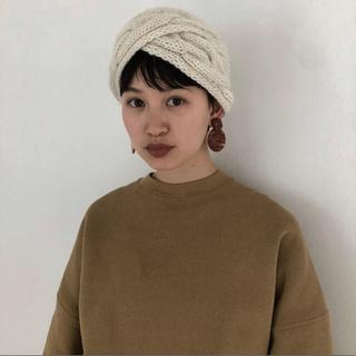 TODAYFUL - 【新品♡】TODAYFUL wool hair turban