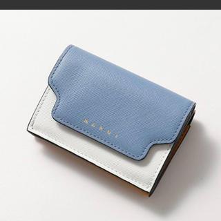 マルニ(Marni)の最終値下げ!MARNI   大人気色 品薄 マルニ  トリフォールドウォレット(財布)