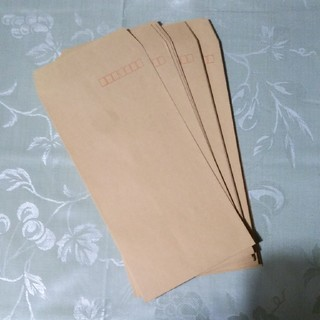 クラフト封筒 長3 25枚(ラッピング/包装)