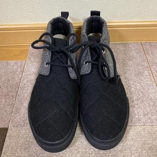 インディアン(Indian)の専用出品   Indian スニーカー ブーツ 23.0㎝ 黒×グレー 送料込み(スニーカー)