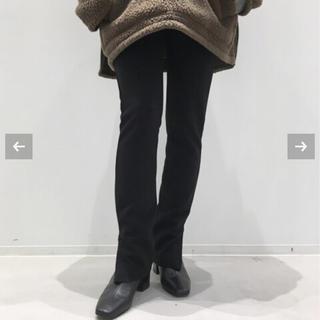 L'Appartement DEUXIEME CLASSE - 新品未使用 Wool Zip Leggings ブラック アパルトモン